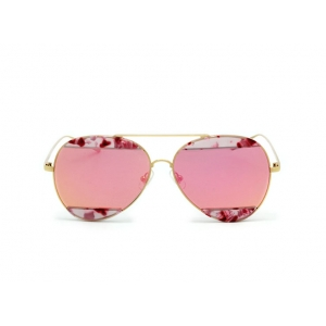 Солнцезащитные очки GENTLE MONSTER VPRST MSF-V023 C02 mirror pink horny pink gd