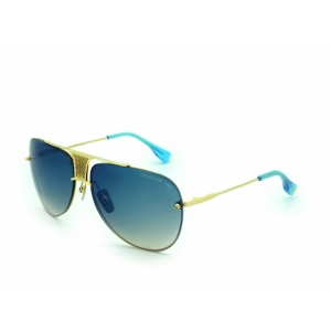 Солнцезащитные очки DITA DECADE-TWO DRX-2082-A-SLV-DLD-61 blue gd  UNISEX